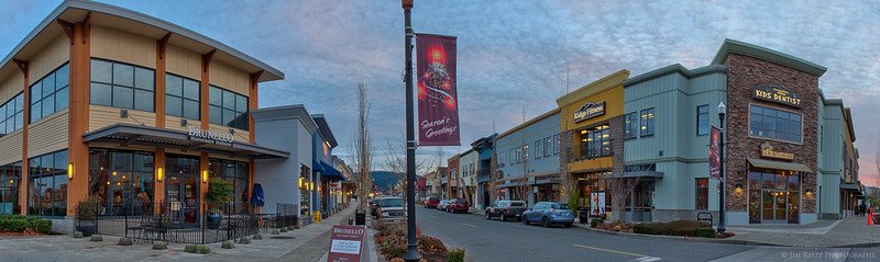 Snoqualmie Ridge business district, Panorama