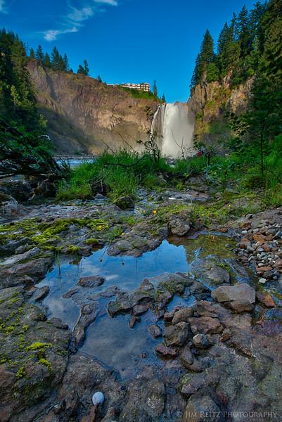 Snoqualmie Falls in Washington state.