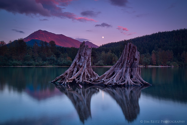 Sunset - Rattlesnake Lake