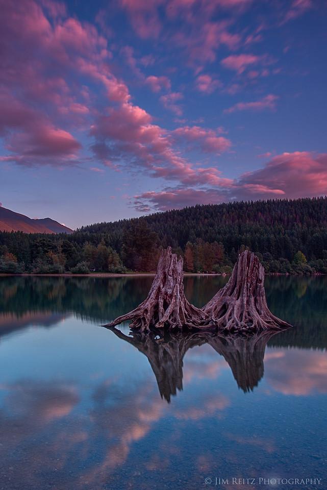Sunset - Rattlesnake Lake
