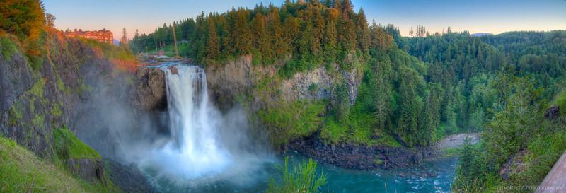 Snoqualmie Falls panorama