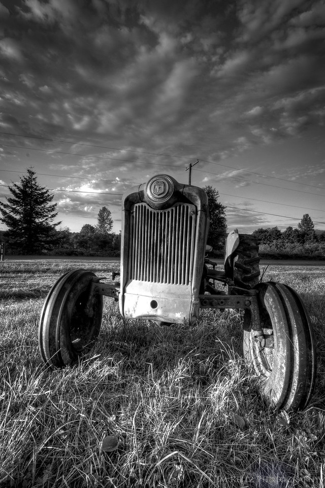 Tractor, Meadowbrook farm, North Bend