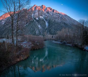 Mountain & Moon