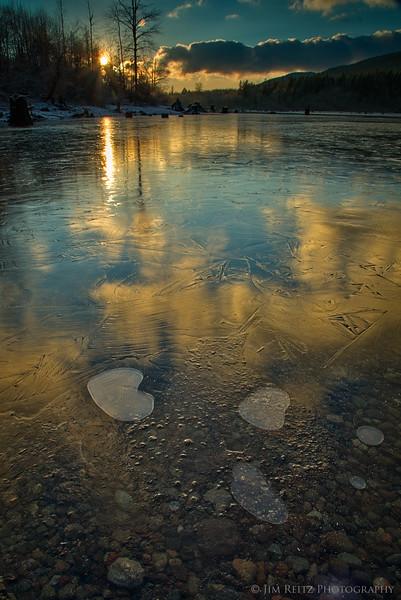 Icy Reflections, Rattlesnake Lake