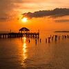 Sunrise over Fishing Pier