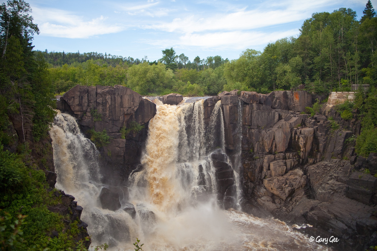Grand Portage Falls, MN