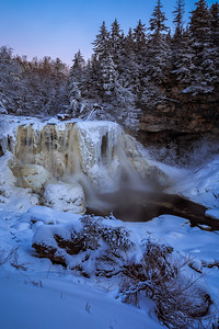 Winter at Blackwater Falls
