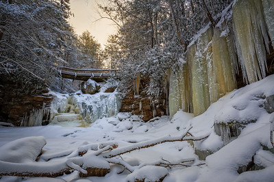 Icicles & Waterfalls