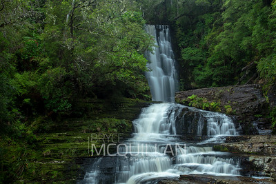 Waterfall, Catlins, South Island, New Zealand