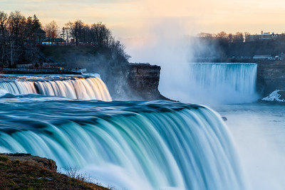 The Falls of Niagra
