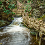 Lonely Journey - Bushkill Falls