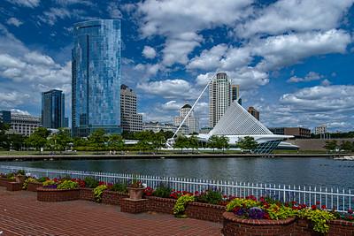 Milwaukee harbor view