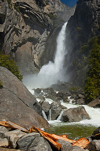 Yosemite Falls, lower section