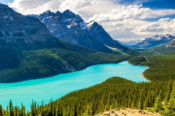 Lake in Banff