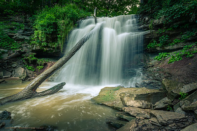 Smokey Hollow Waterfall in Waterdown, Ontario