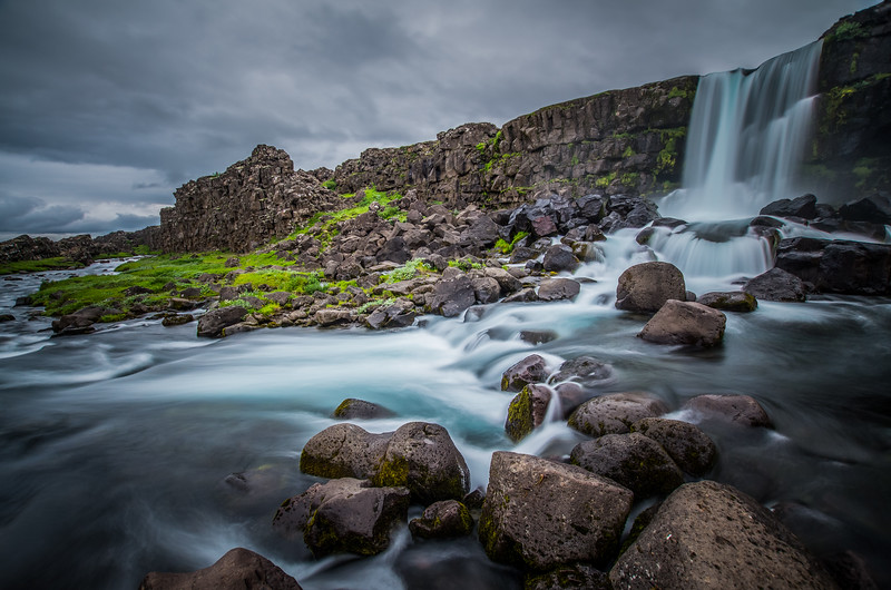 Thingvellir Waterfall