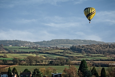 Ballooning over Monmouthshire