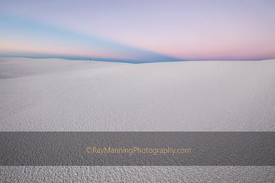 White Sands at Twilight
