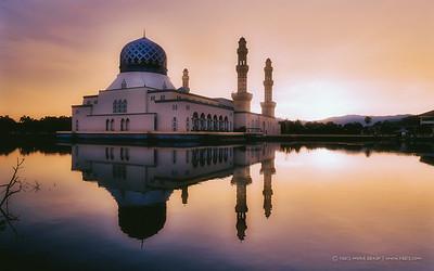 Masjid Bandaraya Likas, Sabah, Malaysia