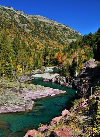 McDonald Creek in Autumn