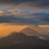 Volcanic sunrise