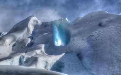 Perito Glacier Cave
