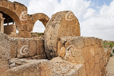 The Rolling Stone Door of the Ancient Synagogue in Susya