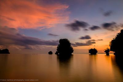 Sunset in Marabut