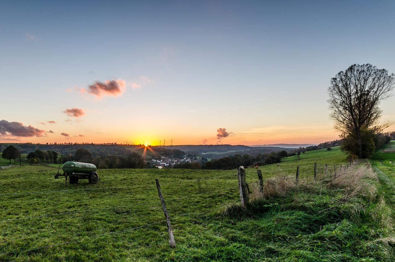 Langwieden Sunset