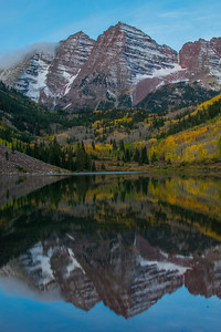 Maroon Bells at Sunrise