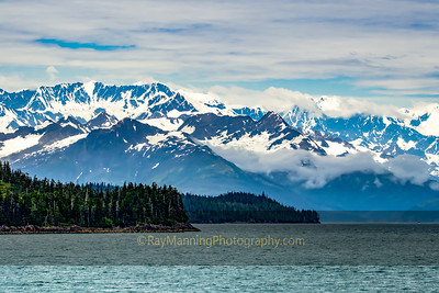 Mountains Along the Prince William Sound