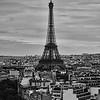 Eiffel Tower Above Paris