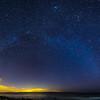 Milky way arch at Montauk