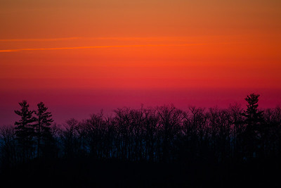 The Gradient of a Shenandoah Sunrise