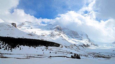 Columbia Icefield, Canada in early summer