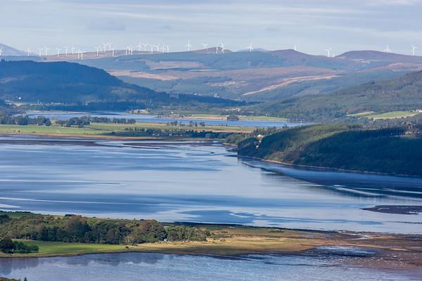 Kyle of Sutherland, Scottish Highlands