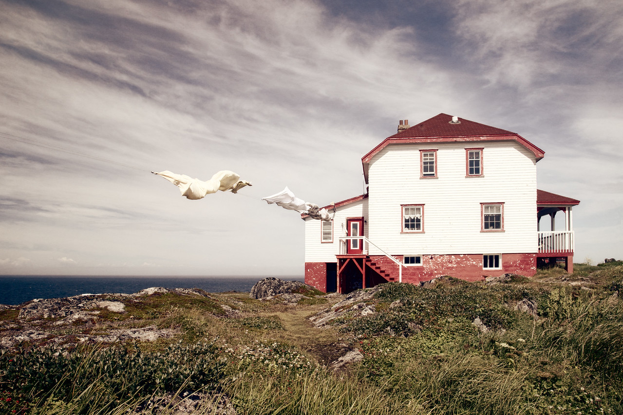 Lighthouse Keeper's House, Quirpon Island, Newfoundland