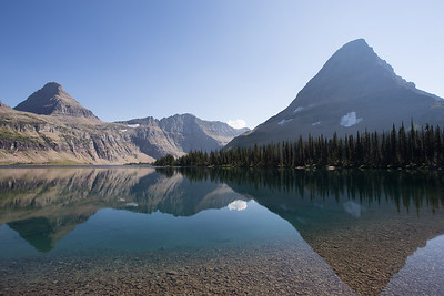 Shadow Lake, Glacier National Park, Montana