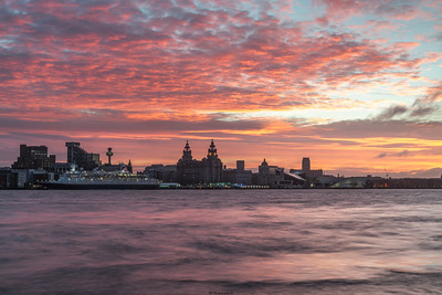 Liverpool Waterfront Sunrsie