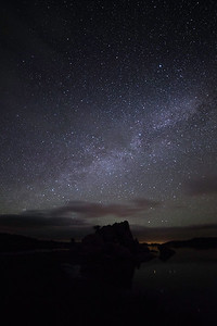Milky Way with Rock