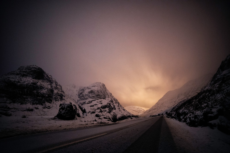 Snow Covered Glencoe