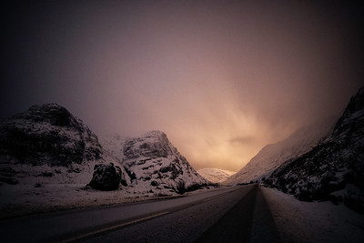 Snow Covered Glencoe