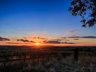 Sunset in the Shire