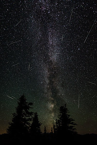 Sunrise Point Meteor Shower