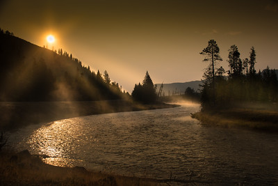 Yellowstone National Park river