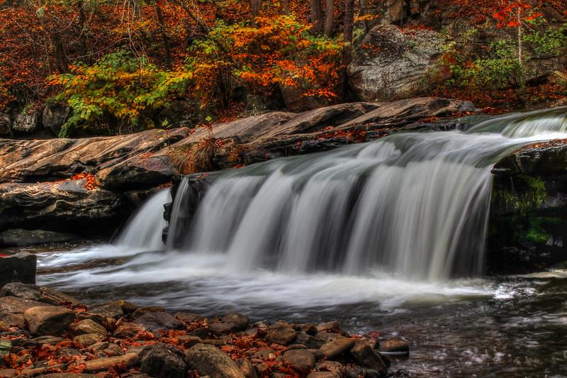 Paint Creek Falls