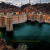 Golden Hour at Hoover Dam