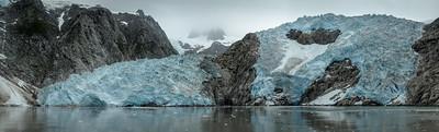 Northwestern  Glacier, Kenai Fjords National Park, Alaska