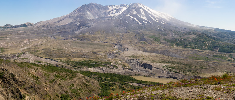 Mt. Saint Helen's, Washington state, USA (Original is 1.3 gigapixel)
