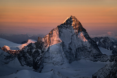 Dent Blanche North Face from the Weisshorn, Switzerland